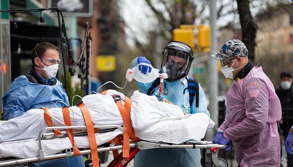 Reporte actualizado en torno a las cifras del coronavirus  en Estados Unidos. (Getty)