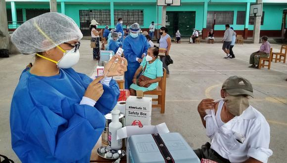 Chachapoyas, en Amazonas, es la provincia que lidera la cobertura de vacunación contra el COVID-19 a nivel nacional. (Foto: Diresa Amazonas)