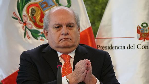 Pedro Cateriano fue Presidente del Consejo de Ministros del Perú en el 2015 hasta 2016 en el Gobierno de Ollanta Humala. (Getty Images)