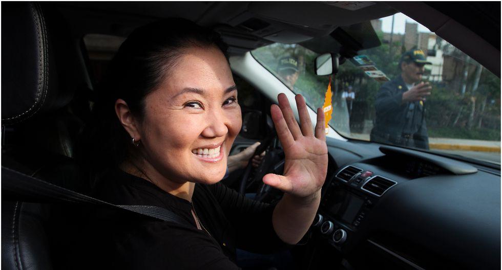 Keiko Fujimori no asistirá a la audiencia de prisión preventiva.