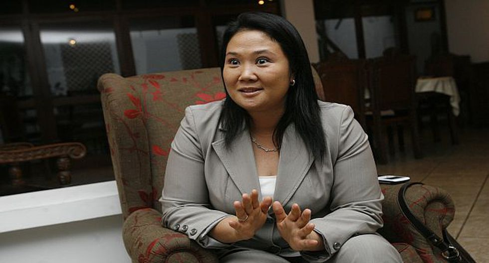 Keiko Fujimori cuestionó la actitud del oficialismo. (USI)