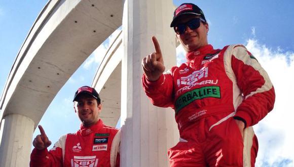 Fuchs venció junto a su copiloto Fernando Mussano. (André Lavandinho)