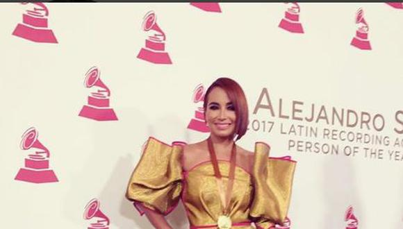 Telemundo: Actriz Majida Issa se luce en los Latin Grammy. (Instagram)