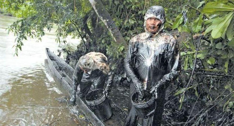 Declaran en estado emergencia distritos amazónicos afectados por derrames de petróleo. (Difusión)