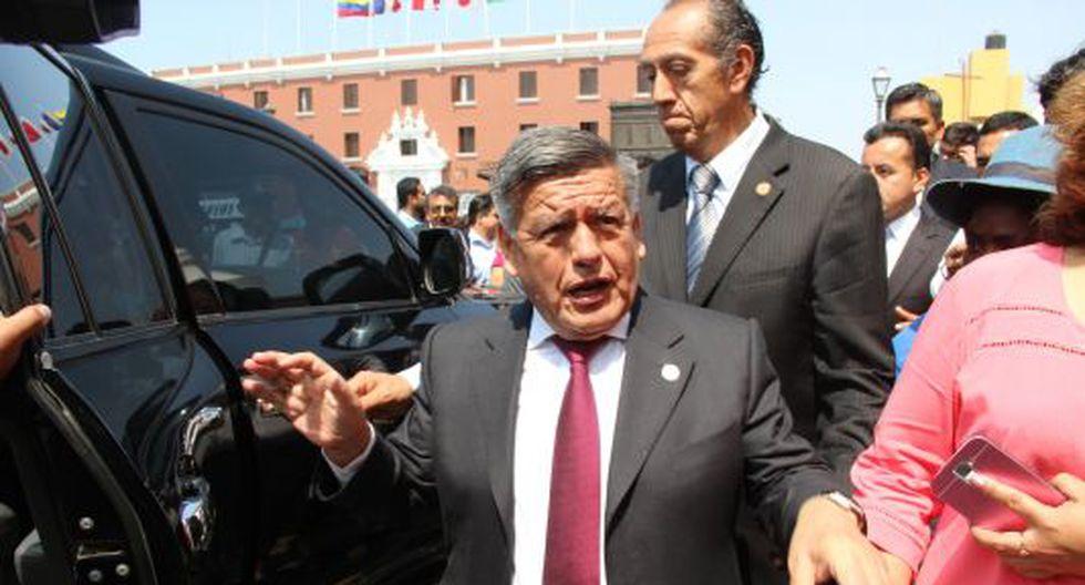 César Acuña afronta proceso judicial.