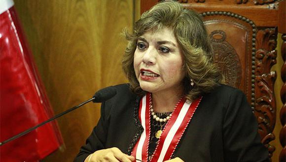 Zoraida Ávalos había ratificado su respaldo al trabajo del Equipo Especial Lava Jato, encabezado por los fiscales Rafael Vela y José Domingo Pérez. (Foto: Agencia Andina)