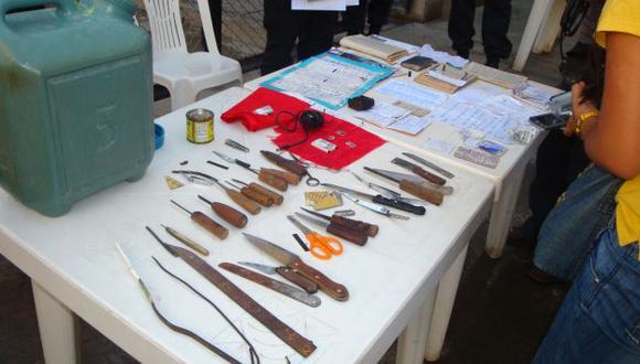 Realizaron operativo en penal de Amazonas. (USI/Referencial)