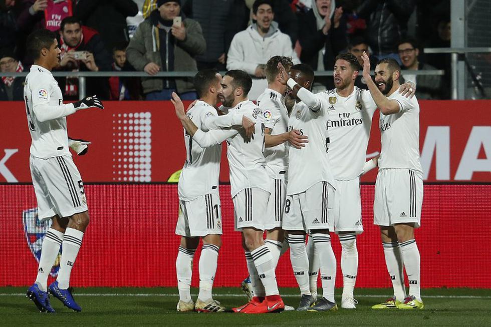 Real Madrid vs. Girona EN VIVO (AFP)