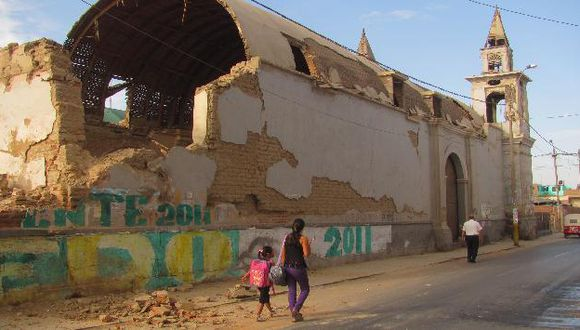 En enero también se reportó un fuerte sismo en Ica. (USI)