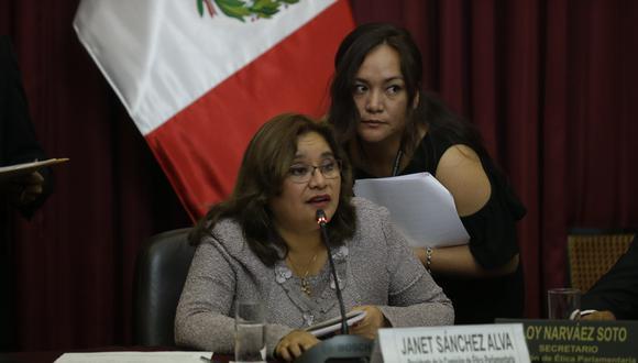"""""""Ninguna mujer se arriesgaría a poner una denuncia por este tema y que su nombre quede en entredicho"""", señaló Janet Sánchez. (Foto: USI)"""
