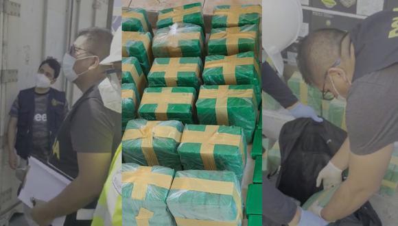 Piura: PNP incauta cocaína valorizada en más de un millón de dólares en puerto paiteño  (Foto: PNP)