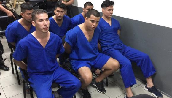 El video difundido a través de redes sociales muestra al estudiante al interior del Complejo Judicial de Managua. | Foto: Captura