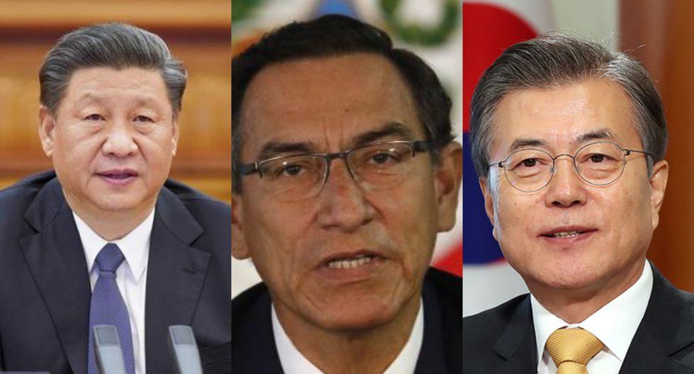 Martín Vizcarra reveló que conversó con los presidentes de China y Corea del Sur