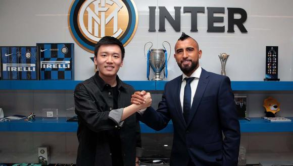 Arturo Vidal firmó contrato con Inter de Milán. (Foto: @Inter)