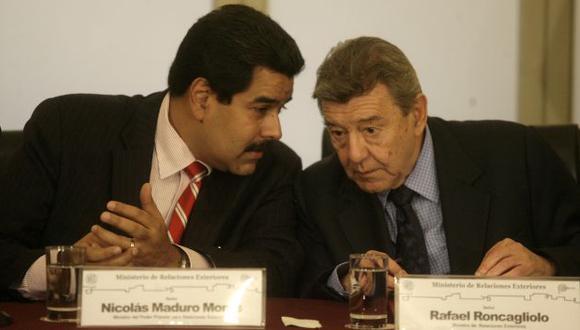 NO ACEPTA CRÍTICAS. El llamado a la tolerancia del canciller Roncagliolo encendió los ánimos del mandatario venezolano.
