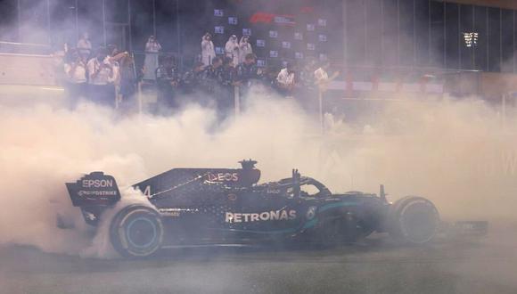 Lewis Hamilton título y fin de temporada (Foto: AP)