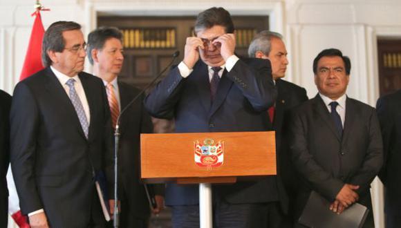 CUESTIONAN FILTRACIÓN. Para los apristas, la investigación parlamentaria tiene finalidad política. (Martín Pauca)
