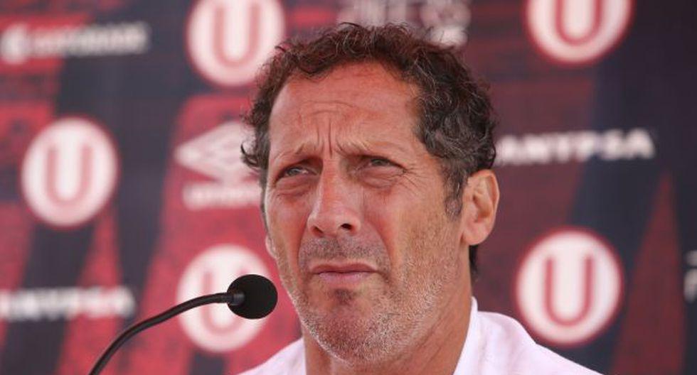 Pedro Troglio llegó a Universitario bajo la dirigencia de César Vento. (USI)