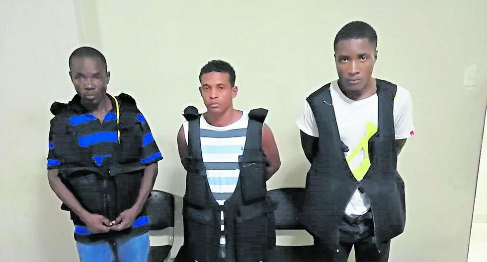 Los capturados afrontan problemas por tráfico de drogas.
