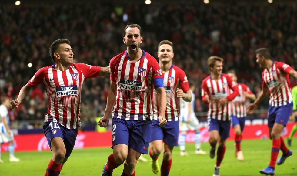 Atlético de Madrid venció 2-0 a Real Sociedad y es líder provisional de LaLiga. (EFE)