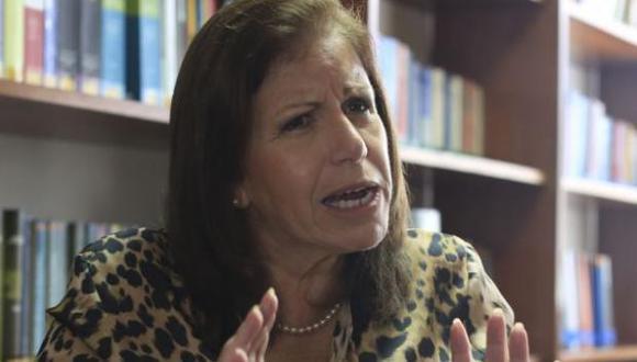 Lourdes Flores Nano reconoció haberse reunido con directivos de Odebrecht durante su campaña. (Foto: Agencia Andina)