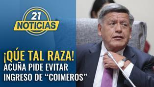 """César Acuña pide evitar ingreso de """"coimeros al Congreso"""""""