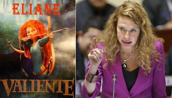 Eliane Karp y Mérida tienen algún parecido físico. (Facebook/Perú21)