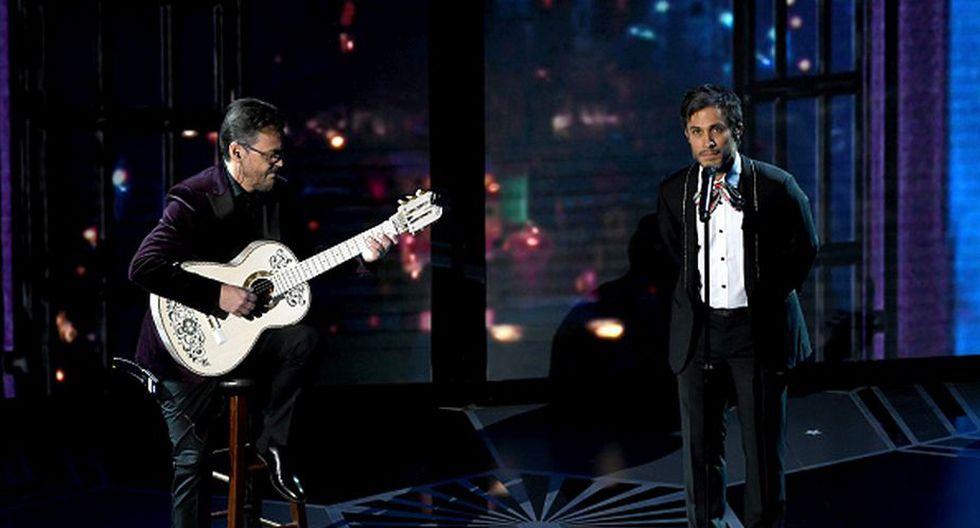 Gael García desató un sinnúmero de memes por su cantar el tema 'Recuérdame' de la cinta animada 'Coco'. (Getty)