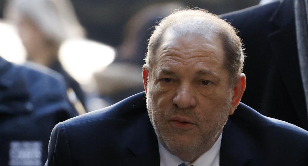 Harvey Weinstein condenado a 23 años de prisión por violación y acto sexual criminal. (Foto: EFE)