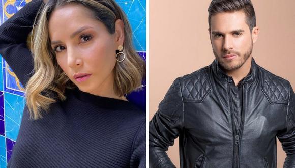 Carmen Villalobos afirmó que su esposo Sebastián Caicedo es un hombre muy fuerte. (Foto: Instagram @cvillalobos  / @sebastiancaicedo).