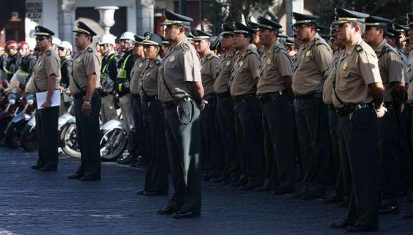 Gracias a este proyecto, más efectivos policiales podrán patrullar en las calles. (USI)