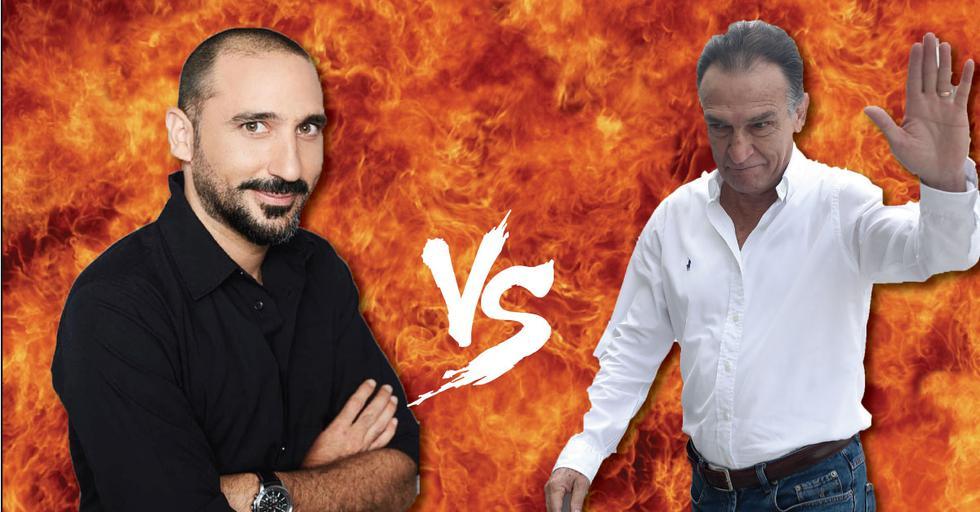 César Ritter y Héctor Becerril se retan a pasar examen toxicológico. (GEC)