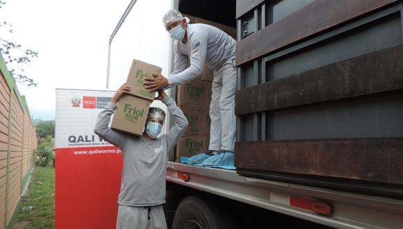 Junín: comunidades nativas se beneficiarán con 678 toneladas de alimentos de Qali Warma (Foto: Qali Warma).