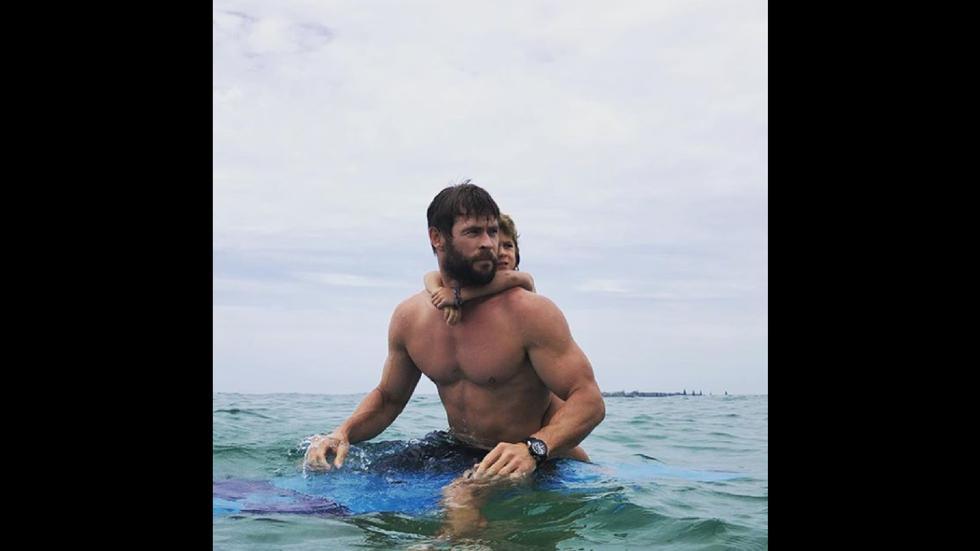 Se reveló el secreto de Chris Hemsworth para tener el cuerpo de 'Thor'. (Instagram)