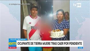 Villa El Salvador: invasor de Lomo de Corvina muere tras caer por pendiente