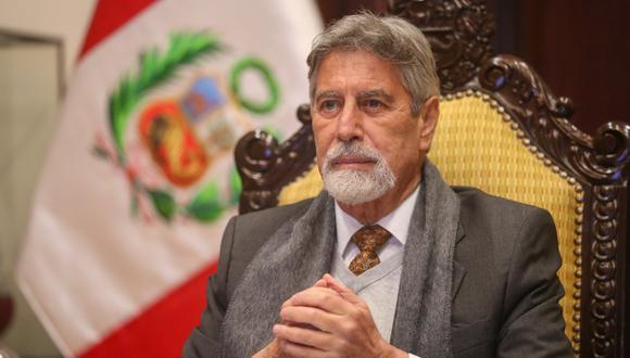 El presidente Francisco Sagasti dejará el cargo dentro de dos días, el 28 de julio. (Foto Twitter @presidenciaperu)