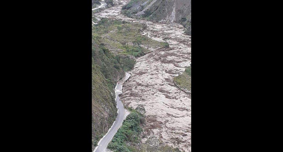 Aluvión en Cusco
