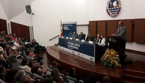 Ministro Carlos Basombrío inauguró el V Congreso Internacional contra la Trata de Personas.