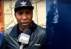 'Cuto' tras asalto a su restaurante: 'Mi mamá gritaba mientras rastrillaban' [VIDEO]