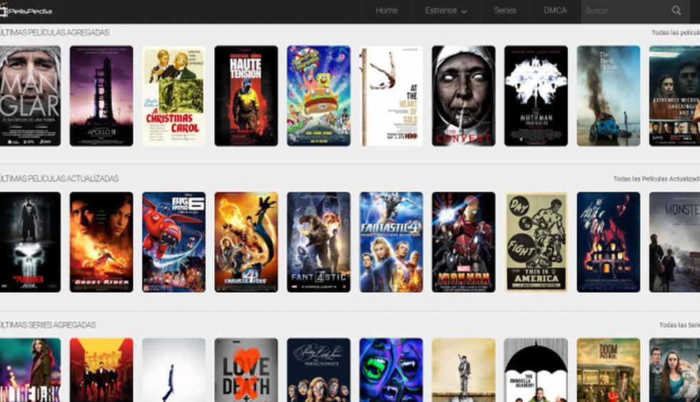 ¿Qué pasó con PelisPedia y Pelisplus? Todo sobre la detención de sus dueños y posible cierre de páginas de películas y series online piratas (Foto: Pelispedia)