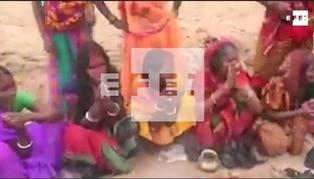 India: rinden honores a 'Corona Mai' la diosa hindú del coronavirus