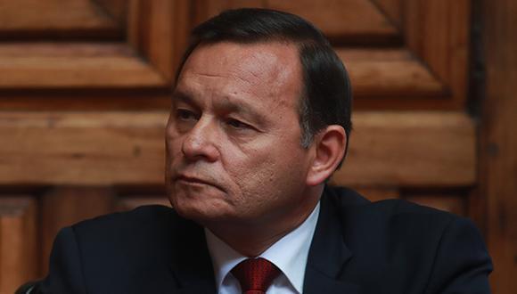 Canciller peruano, Néstor Popolizio, se ausentará del país hoy y mañana sábado 16 de marzo. (Foto: GEC)