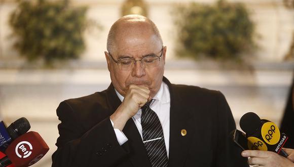 El juez supremo César San Martín reconoció que cometió un error al haberle pedido un favor a Walter Ríos tras la difusión de un audio. (Foto: USI)
