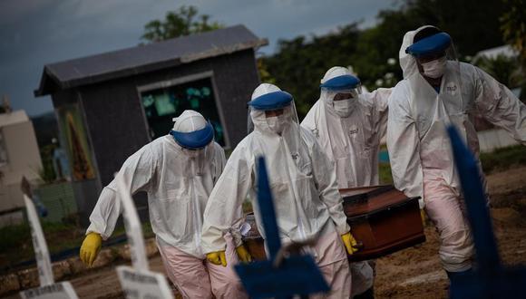 Brasil confirma 56.873 nuevos contagios de coronavirus en las últimas 24 horas. (Foto: EFE /RAPHAEL ALVES)
