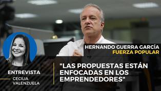 """Hernando Guerra García: """"Las propuestas estás enfocadas en los emprendedores"""""""