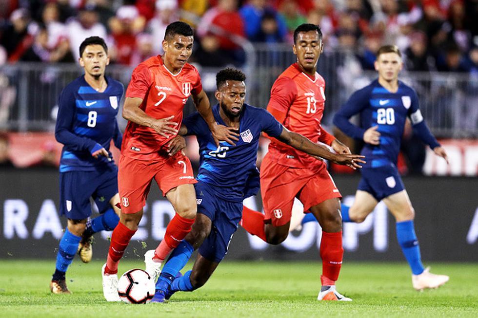 Perú y Estados Unidos igualaron 1-1 desde Connecticut. (Getty)