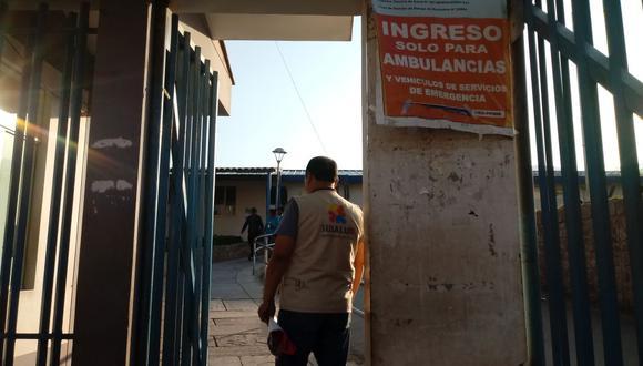 Cusco: Techo de hospital cae encima de la sala de cirugías. (Difusión)