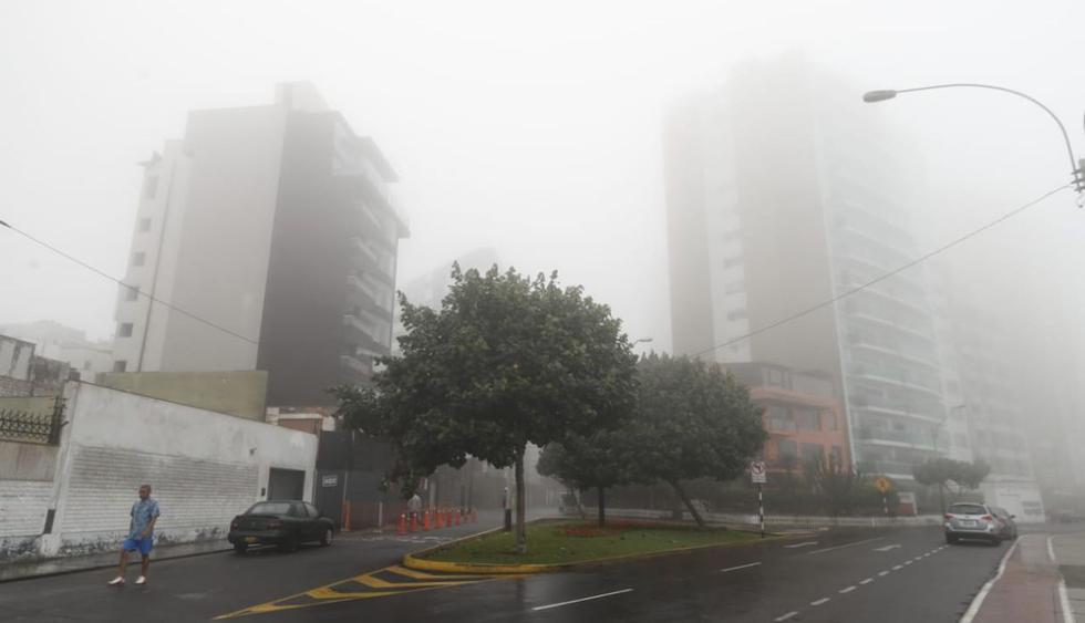 Durante este invierno se registró un promedio de 96% de humedad en relación a la ocurrencia de lloviznas en la ciudad de Lima. (Foto: César Campos/GEC)