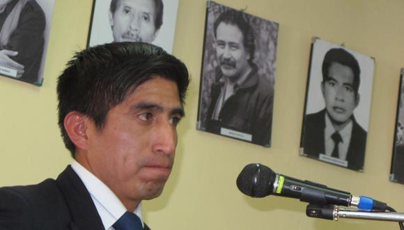 Arturo Cárdenas (a) 'Pinturita' es uno de los dirigentes de Perú Libre con orden de captura. (@photo.gec)