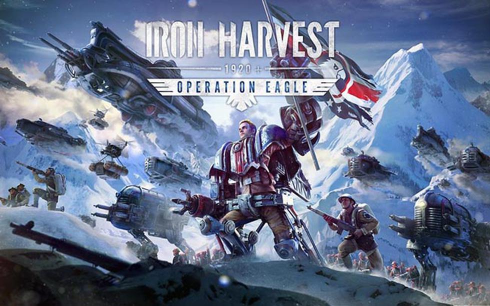 La expansión de 'Iron Harvest 1920+', 'Operation Eagle' ya se encuentra disponible.
